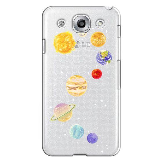 Optimus G Pro Cases - Solar System