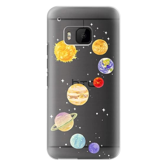 Htc One M9 Cases - Solar System