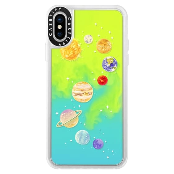 iPhone X Cases - Solar System