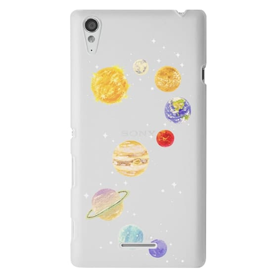 Sony T3 Cases - Solar System