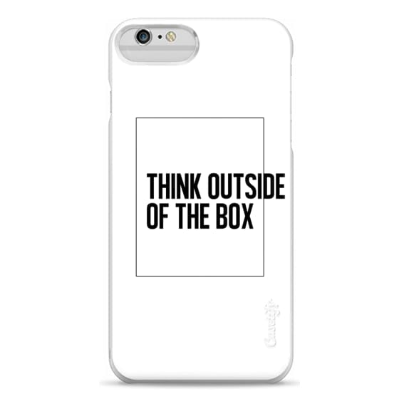 iPhone 6 Plus Cases - THINK OUTSIDE OF THE BOX. Always.
