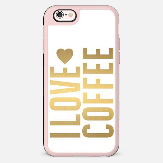 I HEART COFFEE. - New Standard Case