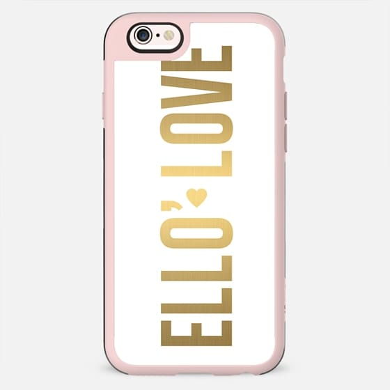 ELLO' LOVE. - New Standard Case