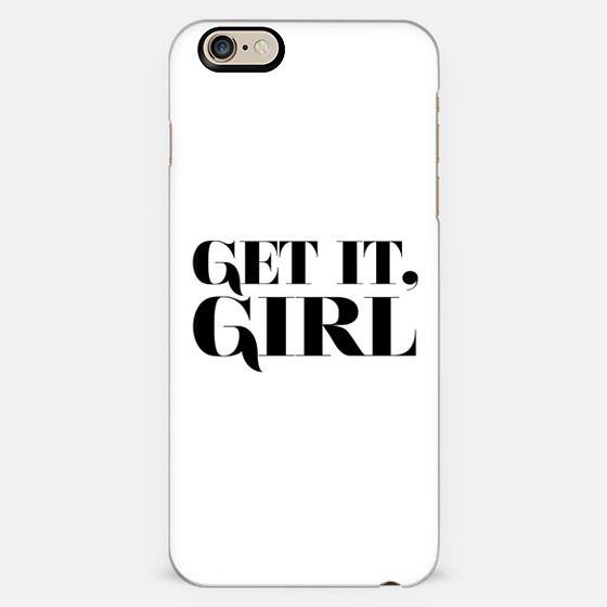 GET IT, GIRL.  -
