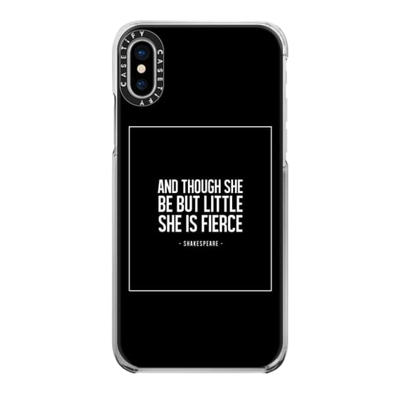 iPhone X Cases - LITTLE, BUT FIERCE.