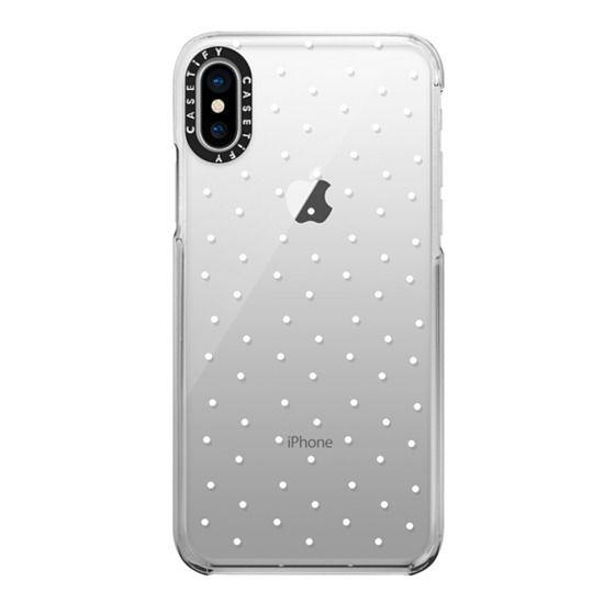 iPhone X Cases - CLASSY, SASSY DOTS.