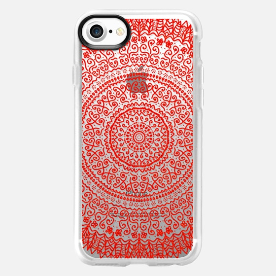 PASSION FEATHER MANDALA - Wallet Case