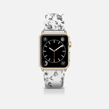 Apple Watch Band (42mm) ケース VINTAGE FLOWERS IN WHITE - APPLE WATCH