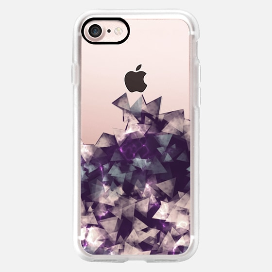 JEWELS CLEAR PHONE CASE -