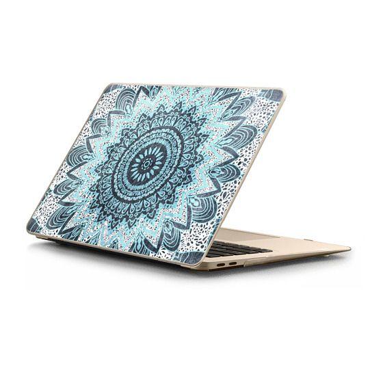 MacBook Air Retina 13 Sleeves - BOHOCHIC MANDALA IN BLUE - MACBOOK SLEEVE