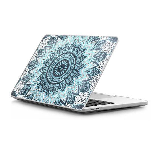 MacBook Pro Touchbar 13 Sleeves - BOHOCHIC MANDALA IN BLUE - MACBOOK SLEEVE