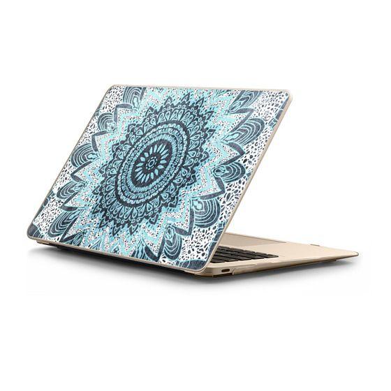 MacBook 12 Sleeves - BOHOCHIC MANDALA IN BLUE - MACBOOK SLEEVE