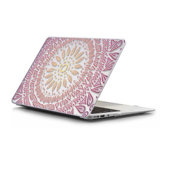 MacBook Air 13 Sleeves - HAPPY BOHO MANDALA- MACBOOK SLEEVE