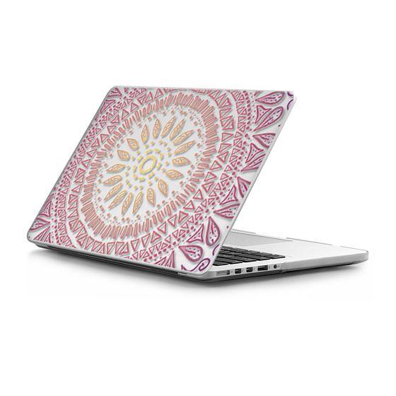 MacBook Pro Retina 13 Sleeves - HAPPY BOHO MANDALA- MACBOOK SLEEVE