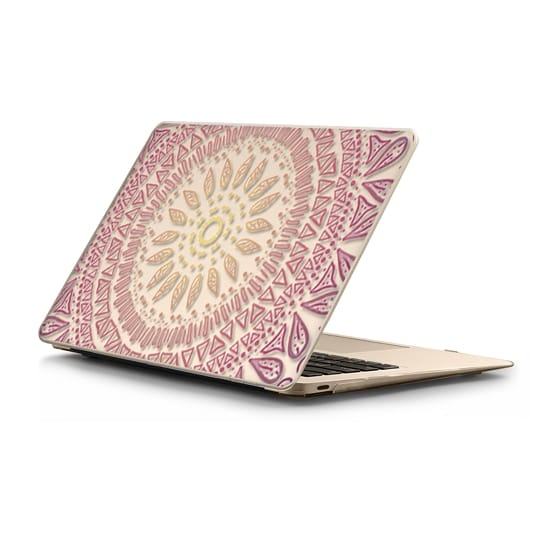 MacBook 12 Sleeves - HAPPY BOHO MANDALA- MACBOOK SLEEVE