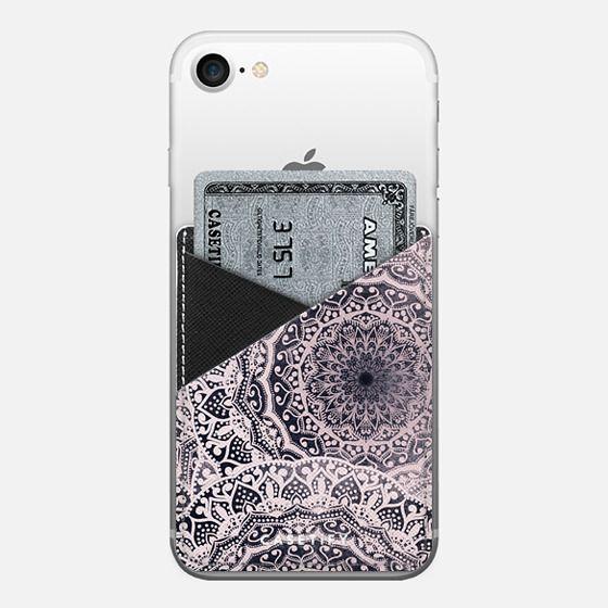 BOHOCHIC GIRL MANDALAS - Saffiano Leather Phone Wallet