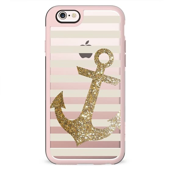 Glitter Anchor in Gold