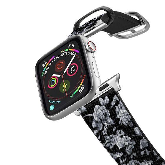 Apple Watch 38mm Bands - VINTAGE FLOWERS IN BLACK - APPLE WATCH
