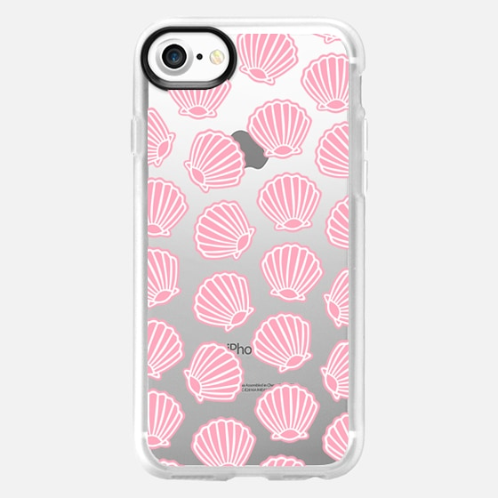 PINK CLAM SHELLS - Wallet Case