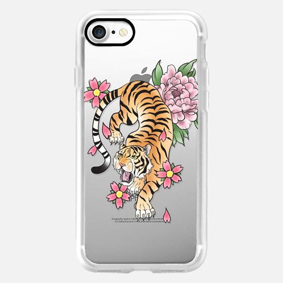 TIGER & FLOWERS -