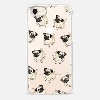 iPhone 8 Case PUG PATTERN