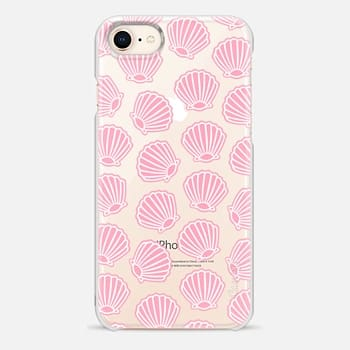 iPhone 8 Case PINK CLAM SHELLS