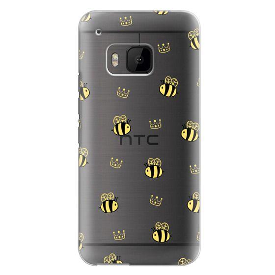 Htc One M9 Cases - QUEEN BEE