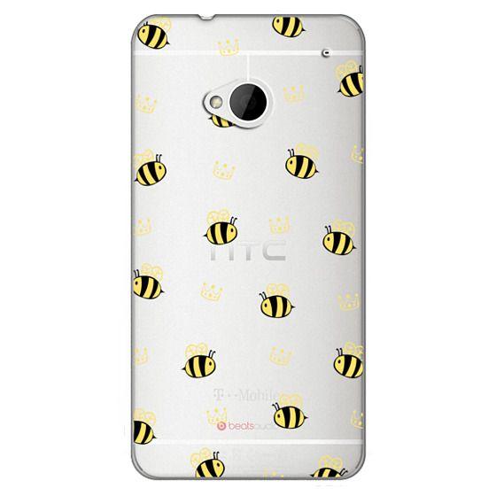 Htc One Cases - QUEEN BEE