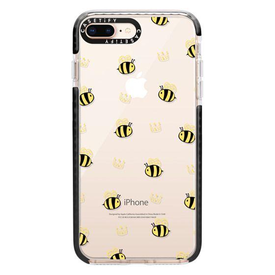 iPhone 8 Plus Cases - QUEEN BEE