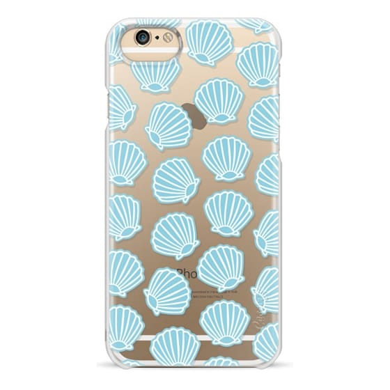 iPhone 6 Cases - BLUE CLAM SHELLS