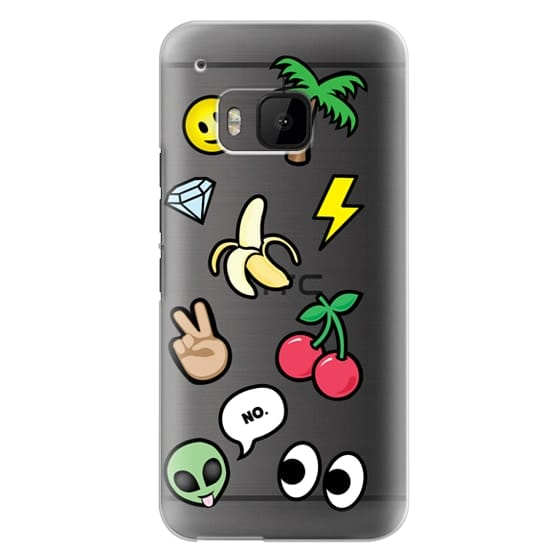 Htc One M9 Cases - EMOTICONS