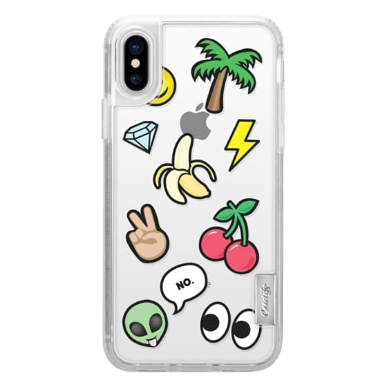 iPhone X Cases - EMOTICONS