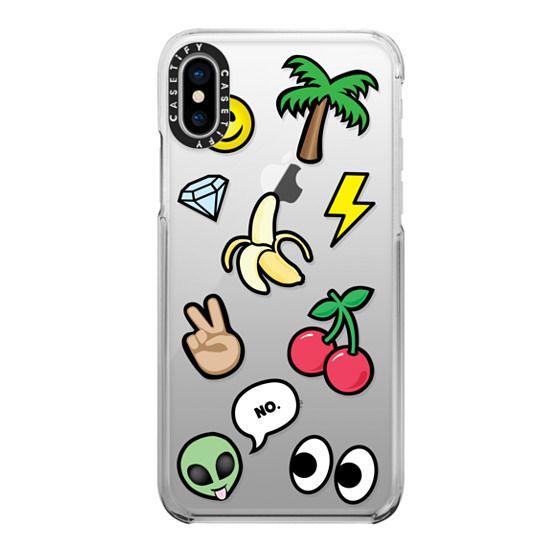 iPhone X Cases - EMOTICONS