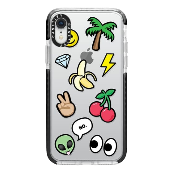 iPhone XR Cases - EMOTICONS