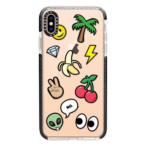 iPhone XS Max Cases - EMOTICONS