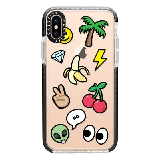 iPhone XS Cases - EMOTICONS
