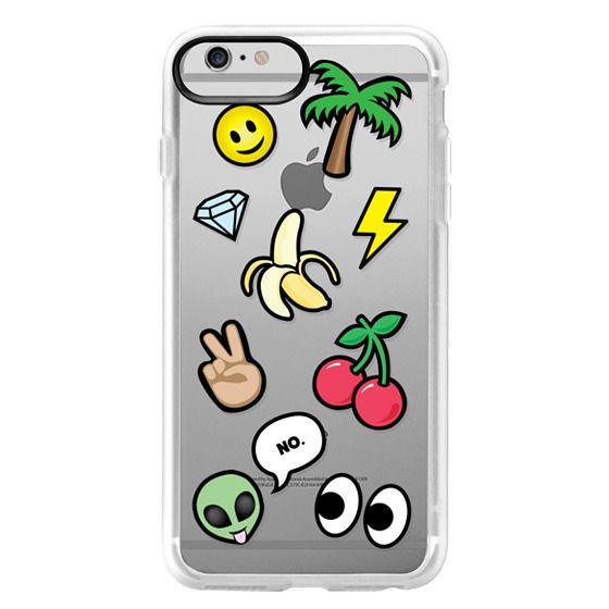iPhone 6 Plus Cases - EMOTICONS