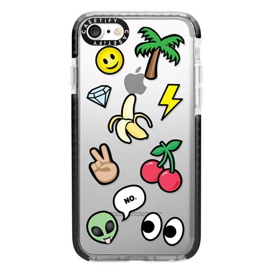iPhone 7 Cases - EMOTICONS