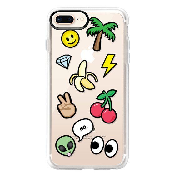 iPhone 8 Plus Cases - EMOTICONS