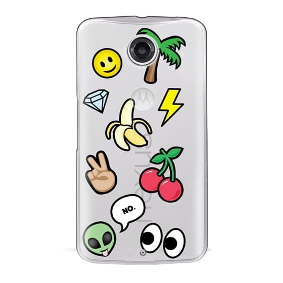 Nexus 6 Cases - EMOTICONS