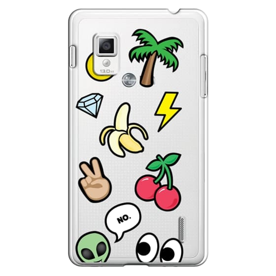 Optimus G Cases - EMOTICONS