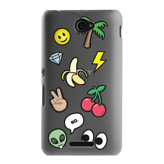 Sony E4 Cases - EMOTICONS