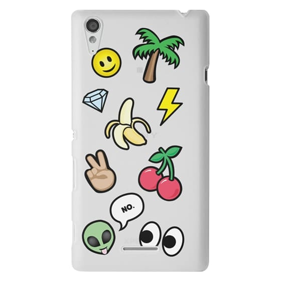 Sony T3 Cases - EMOTICONS