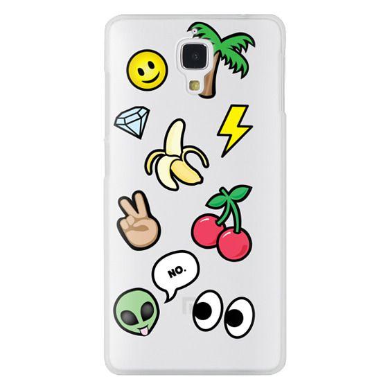 Xiaomi 4 Cases - EMOTICONS