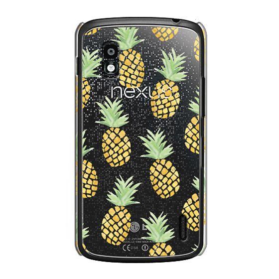 Nexus 4 Cases - PINEAPPLES