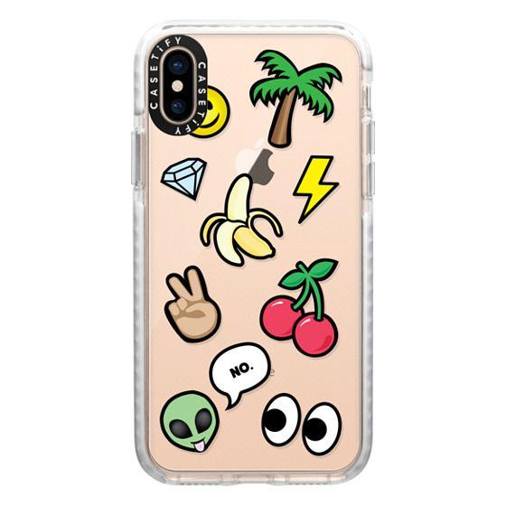 iPhone XS Cases - EMOTICONS