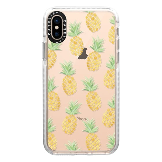 iPhone XS Cases - PINEAPPLES