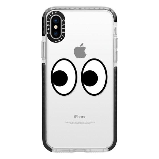 iPhone X Cases - EYES EMOJI