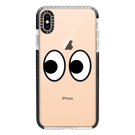 iPhone XS Max Cases - EYES EMOJI