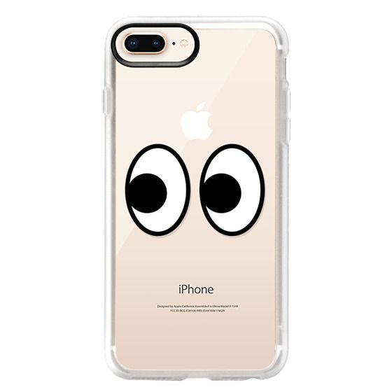 iPhone 8 Plus Cases - EYES EMOJI
